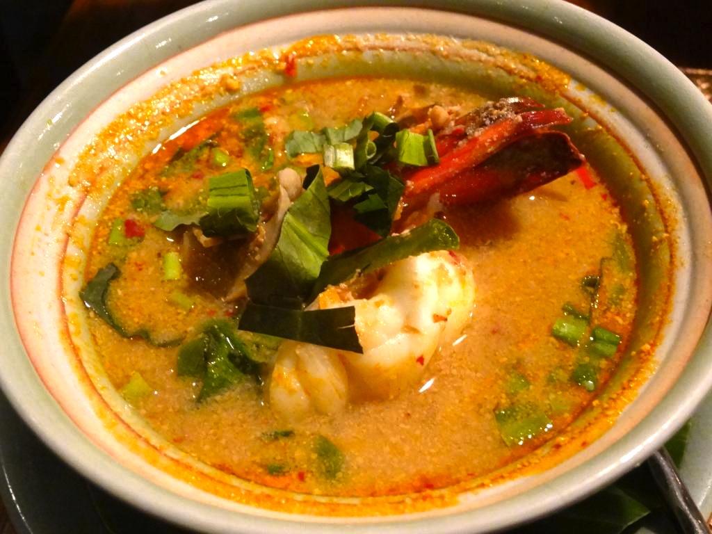 バンコクのタイ料理レストラン-バーンカニタ・ギャラリー-トムヤムクン