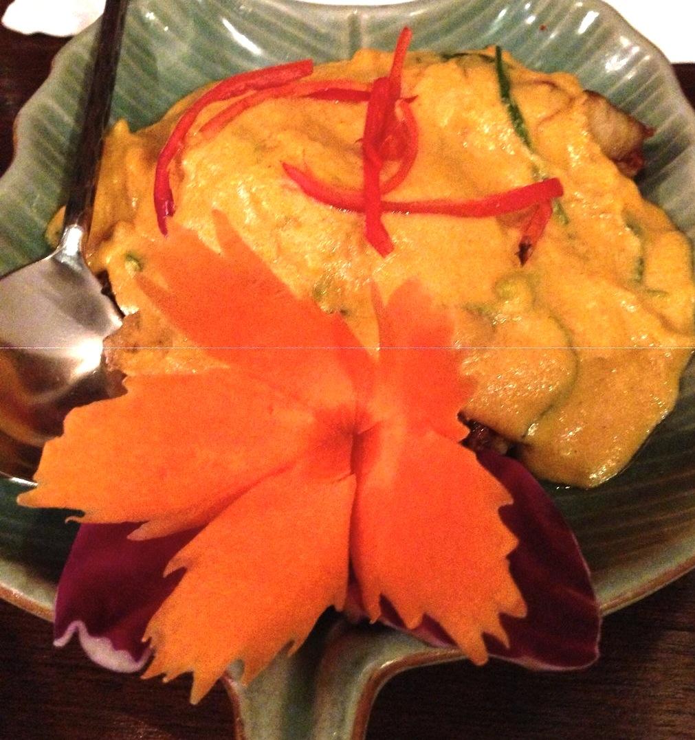 バンコクのタイ料理-レストラン-バーンカニタ・ギャラリー-プーパッポンカリー