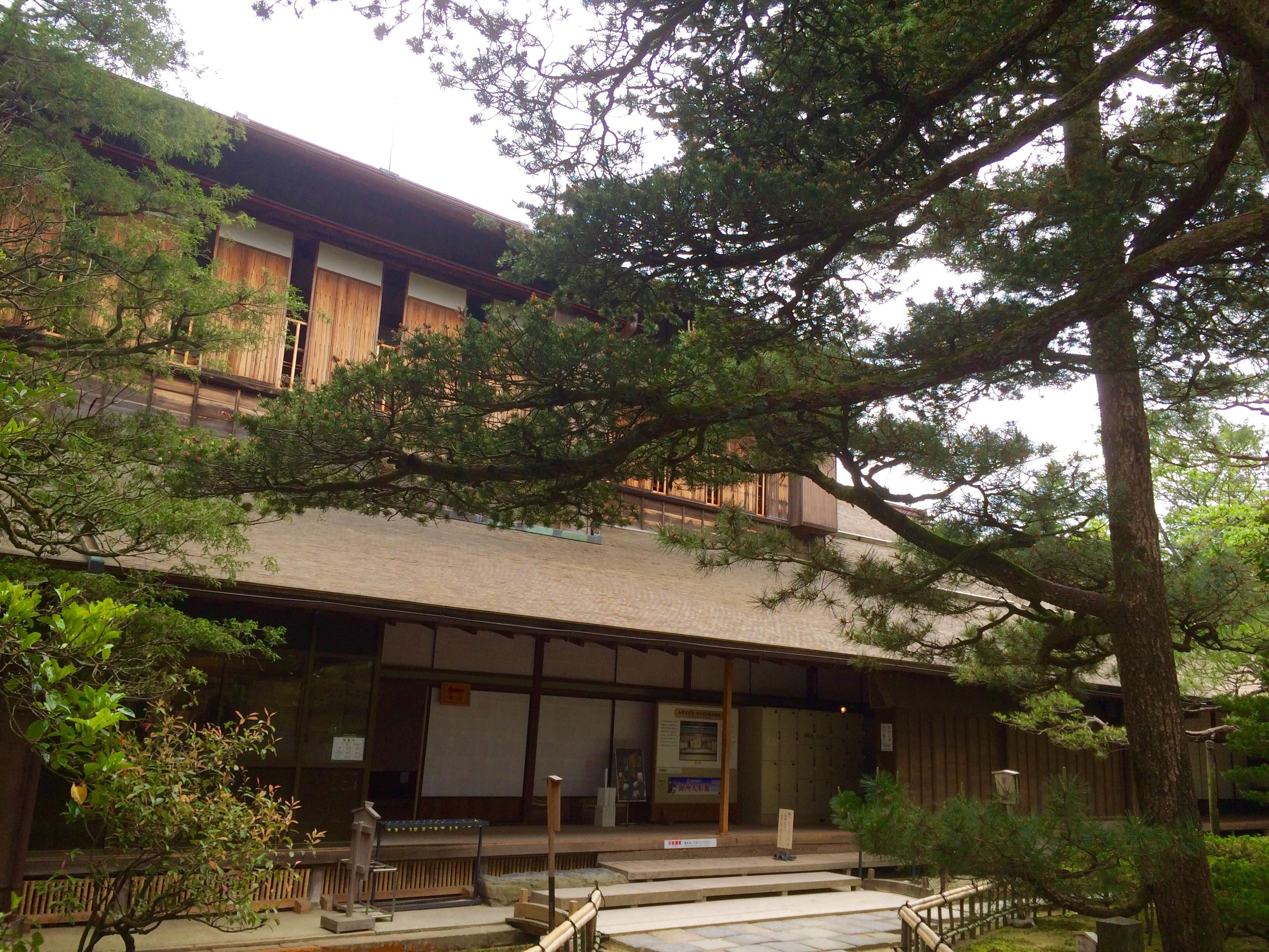 金沢旅行の観光地-兼六園-成巽