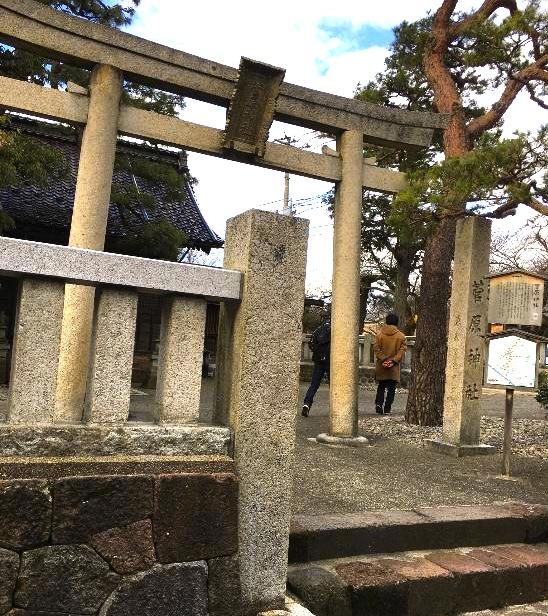 金沢の観光地-東茶屋-神社