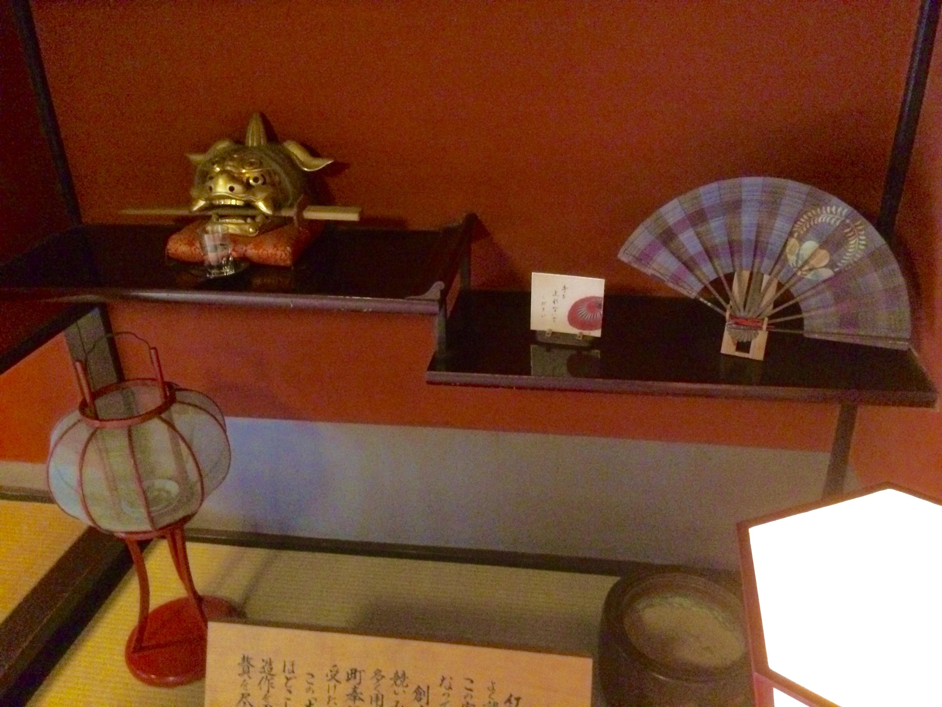 金沢の観光スポット-東の茶屋街-志摩-床の間