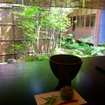 金沢の東茶屋街の和カフェ★志摩でお抹茶&和菓子を〜