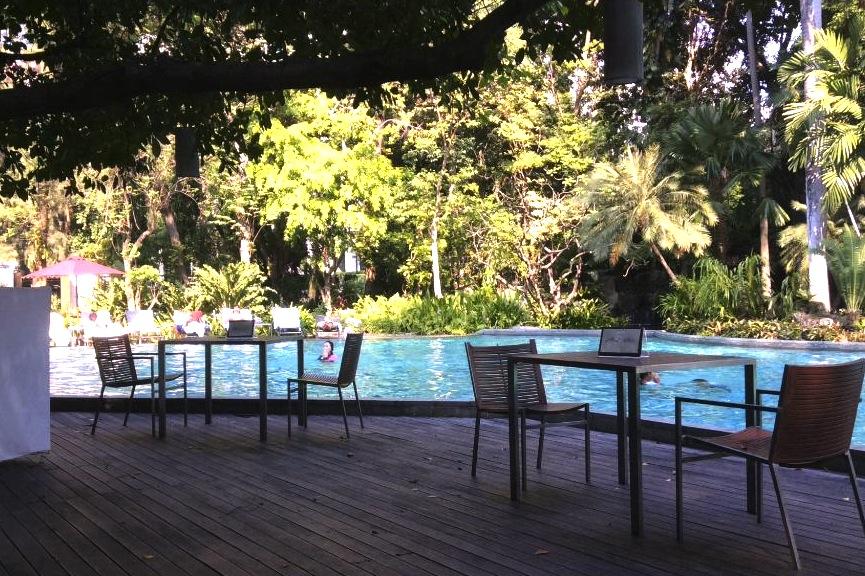 バンコクでプールが大きいホテル-スイソテル-1