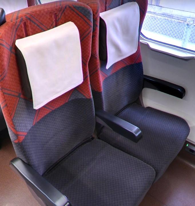 北陸新幹線-指定席-シート-2