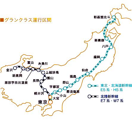 北陸新幹線-MAP