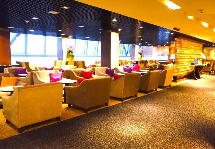 タイ航空のファーストラウンジを見たい★バンコク空港