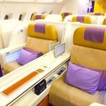 タイ航空のファーストクラスを見ますか??A380編★