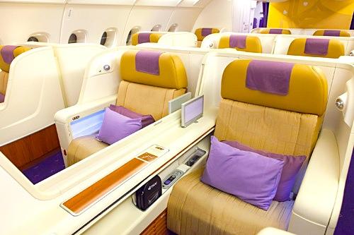 タイ航空-ファーストクラス-シート-2