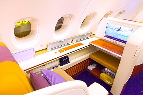 タイ航空-ファーストクラス-シート-7