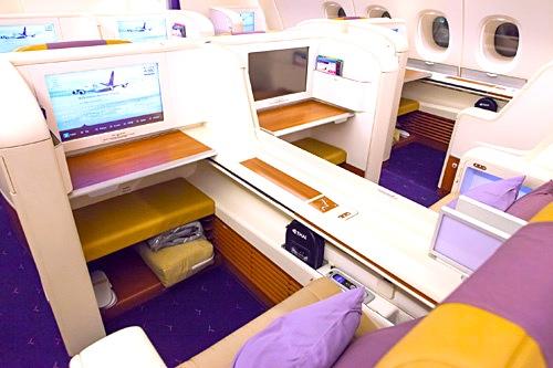 タイ航空-ファーストクラス-シート-3