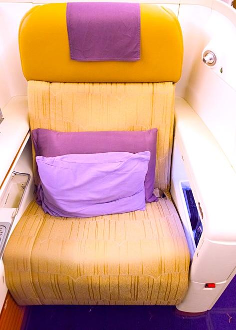 タイ航空-ファーストクラス-シート-4