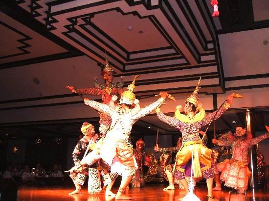 タイ舞踊-バンコク-サラリムナーム-オリエンタルホテル-4