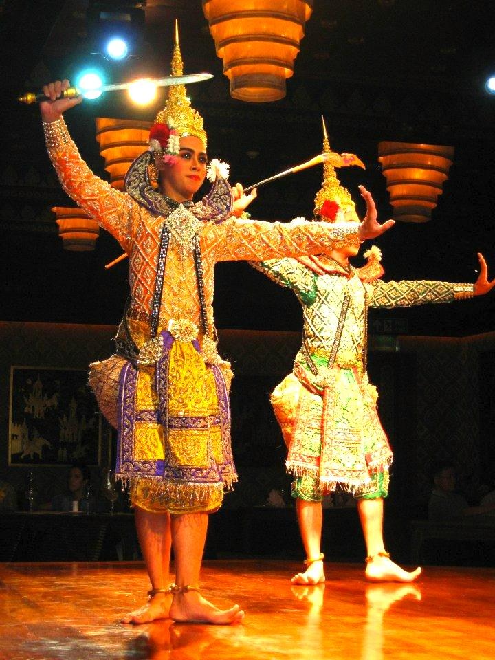 タイ舞踊-バンコク-サラリムナーム-オリエンタルホテル-10