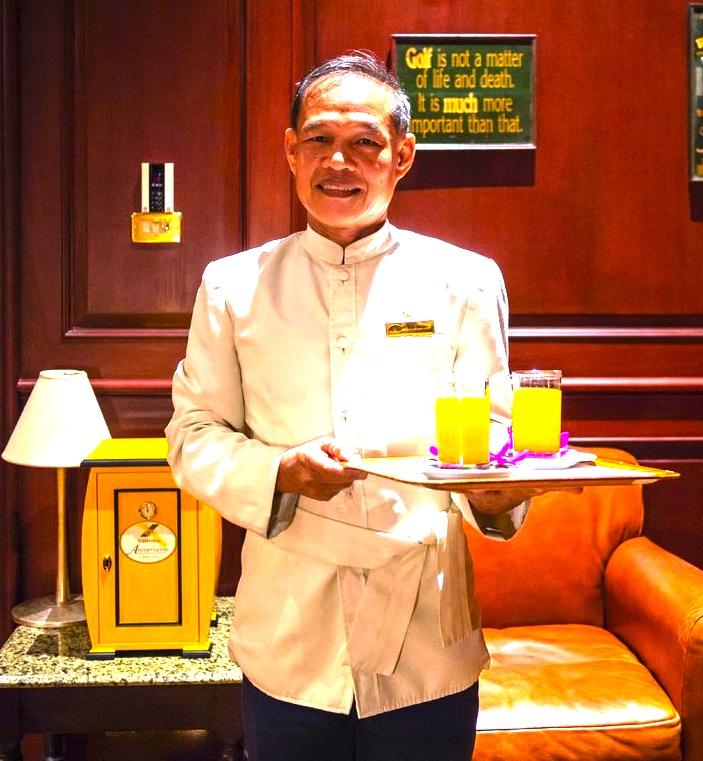 mandarin-oriental-bangkokのバトラー
