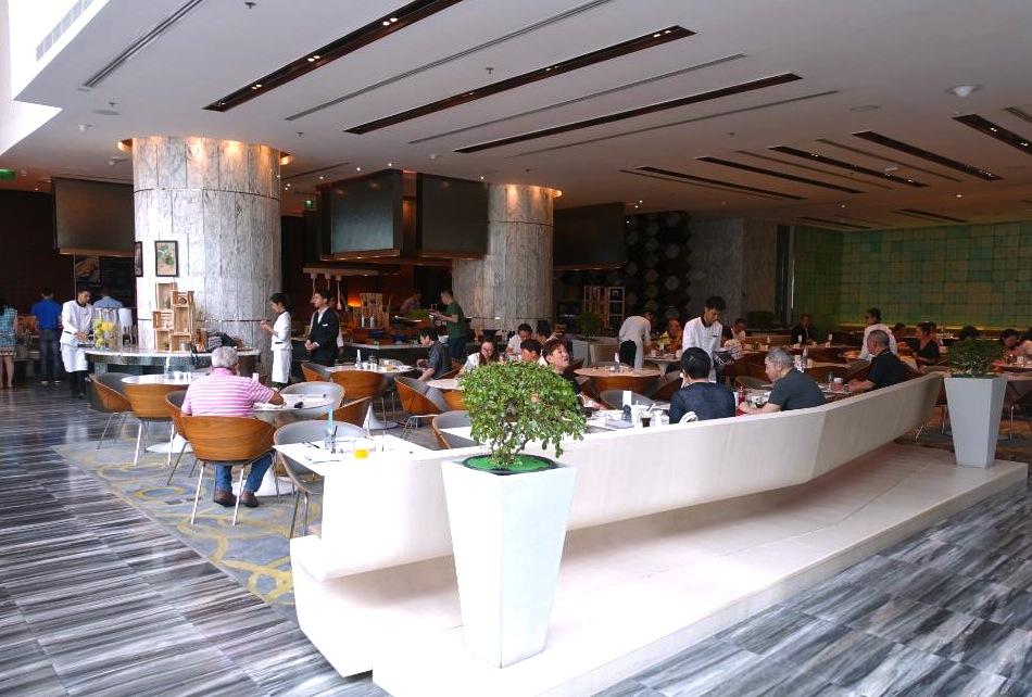 ル メリディアン-バンコク-シーロムのホテル-朝食