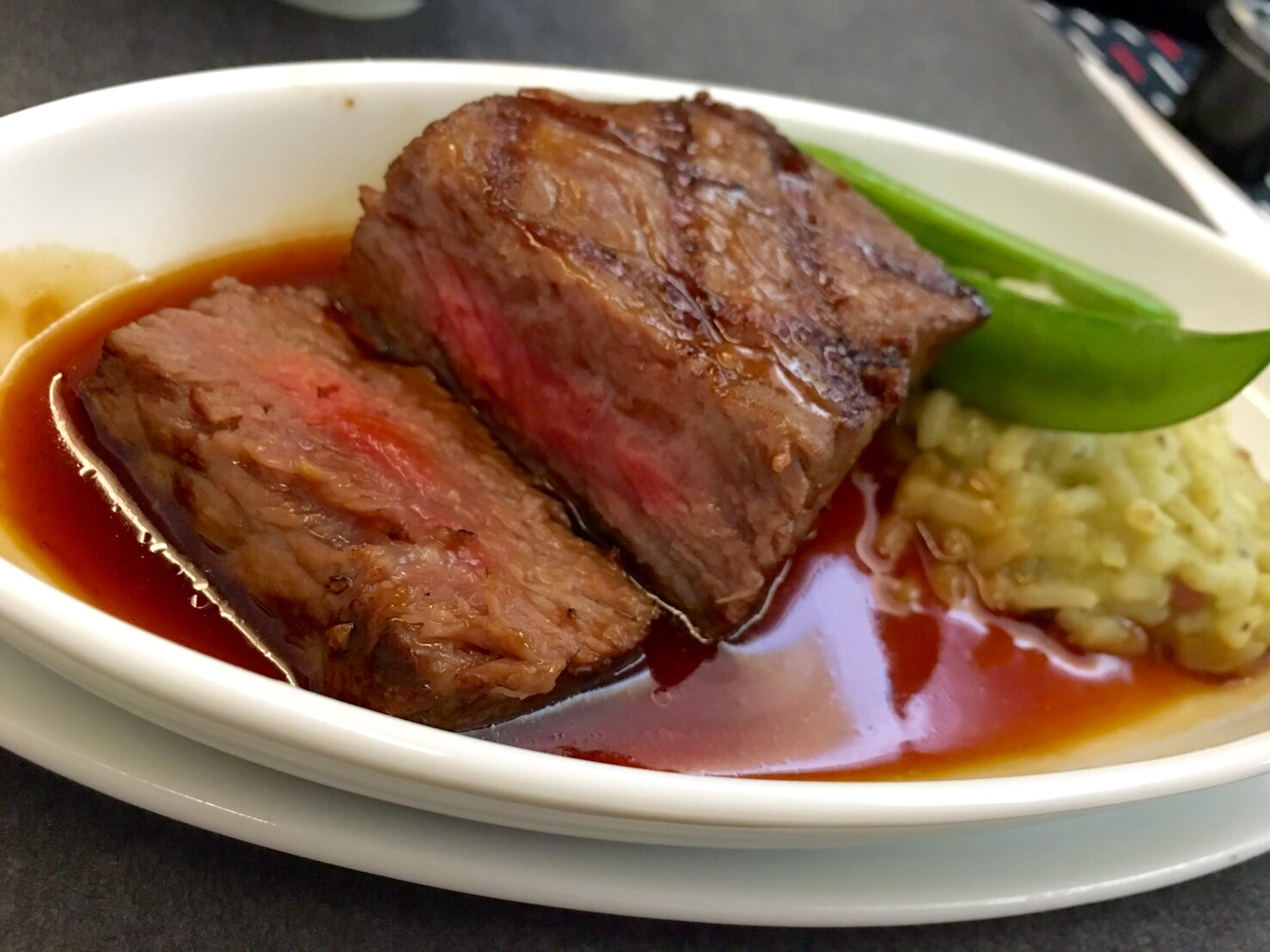 JAL-ビジネスクラス-スカイスイート3-機内食