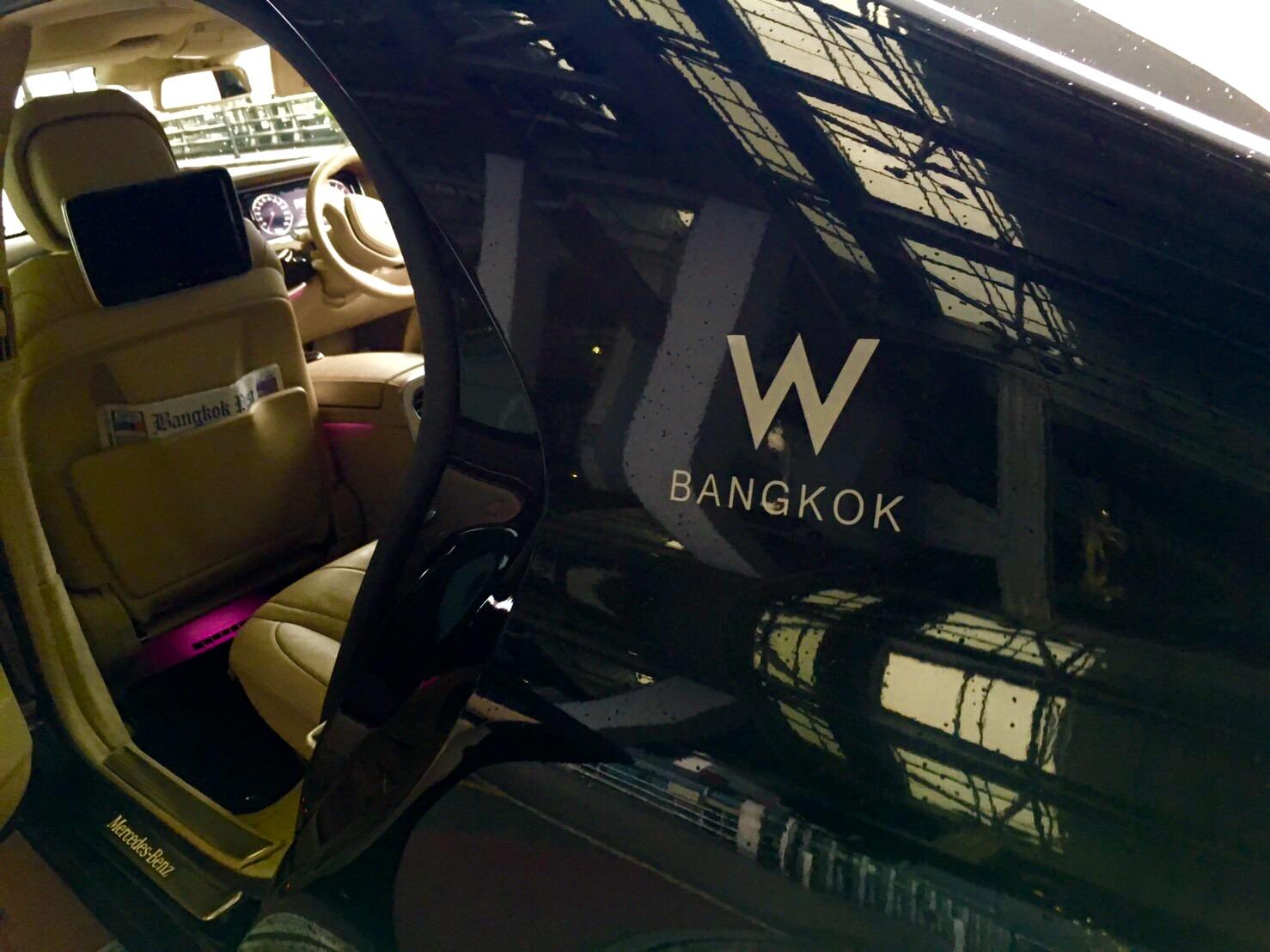 Wホテル-バンコク-リムジン-空港送迎-1