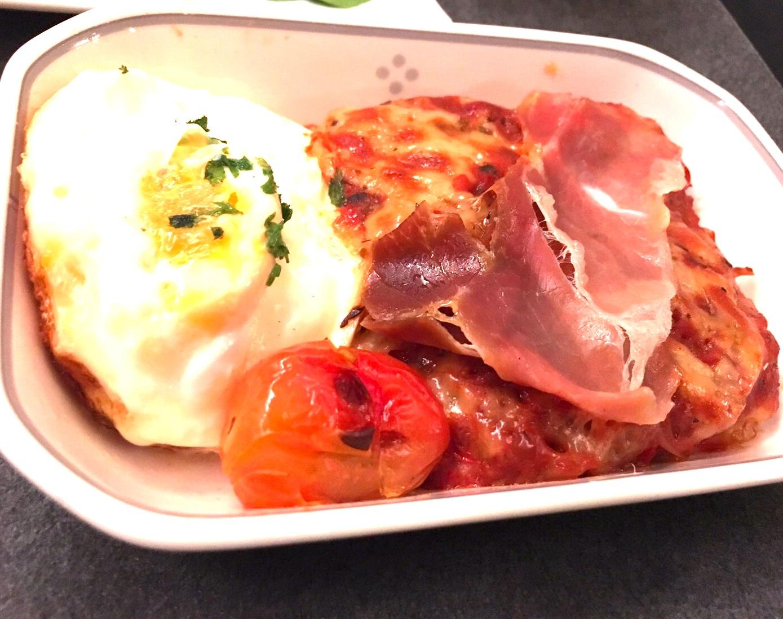 JAL-ビジネスクラス-食事-朝食1