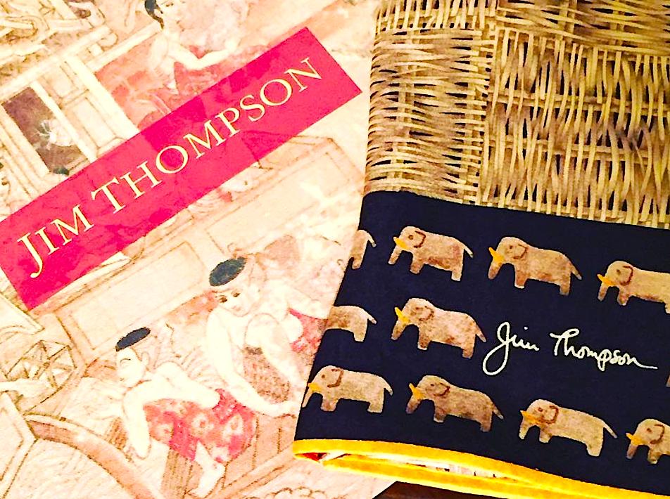 ジムトムプソン-スカーフ-タイのお土産