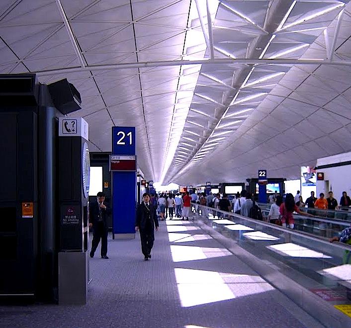 香港国際空港-トランジット-1