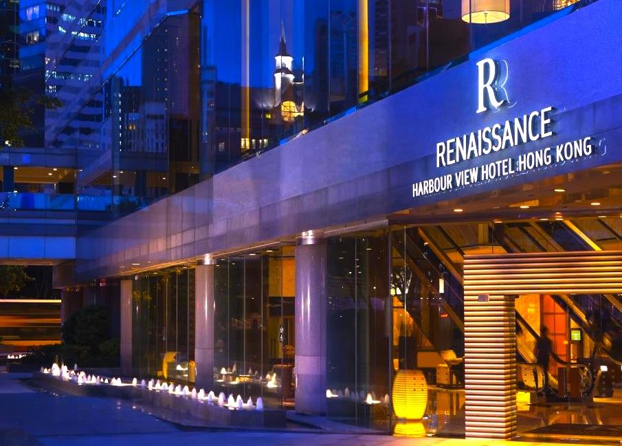 香港-夜景がキレイなホテル-ルネッサンス・ハーバービュウ