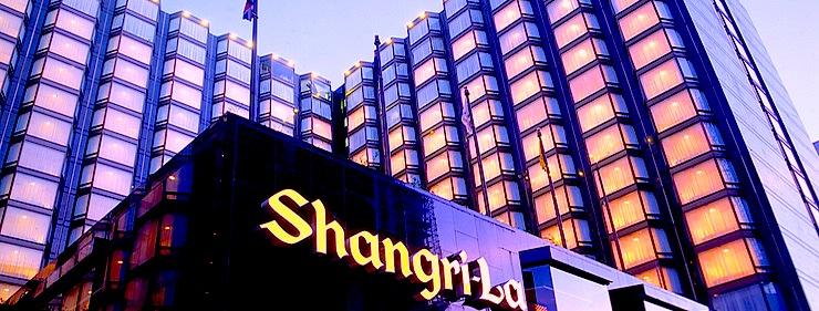 夜景のキレイなホテル-シャングリラ香港