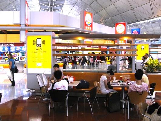 香港空港-レストラン-2