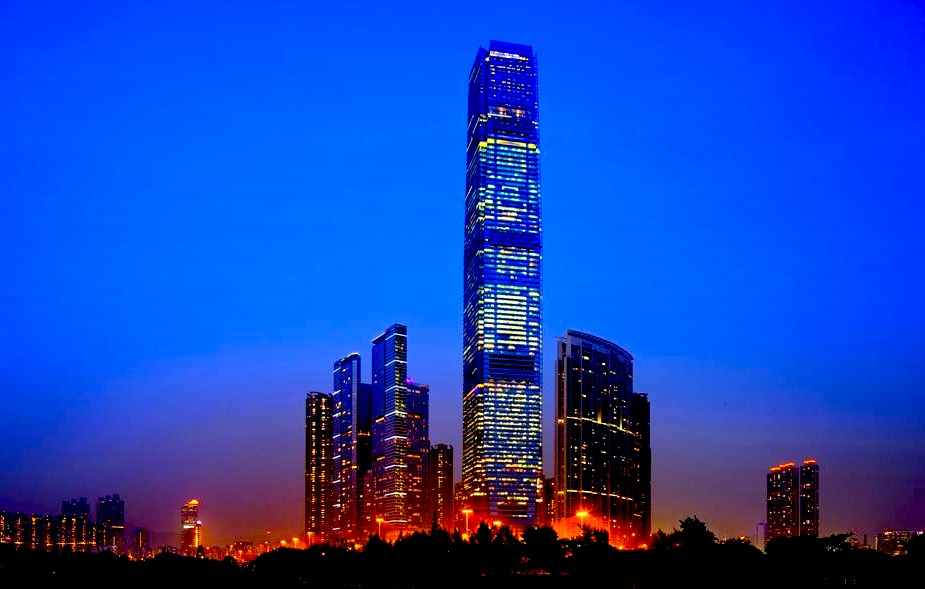 リッツカールトン香港-夜景