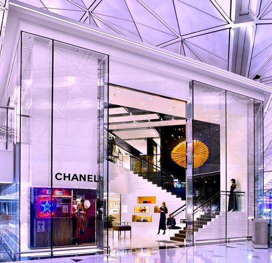 香港国際空港-免税店-ブランド-シャネル