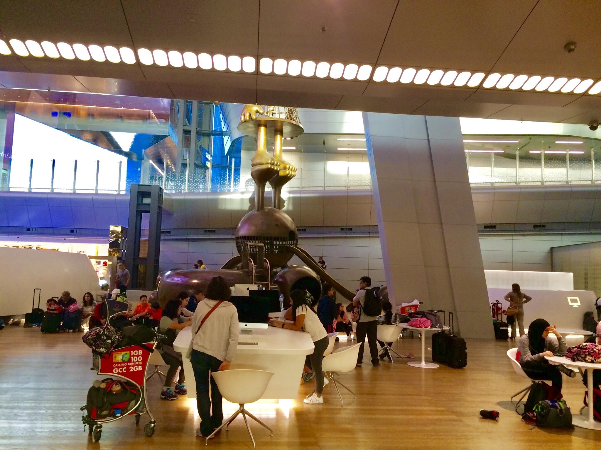 カタール-ドーハ-ハマド国際空港-Hamad-International-Airport-7