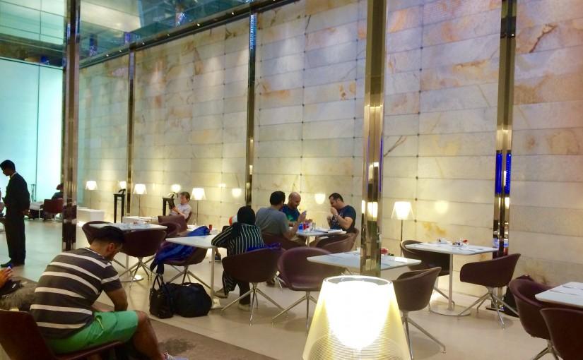 カタール★ドーハ空港のアルマハ・ラウンジはプラオリティーパスでGOよ!