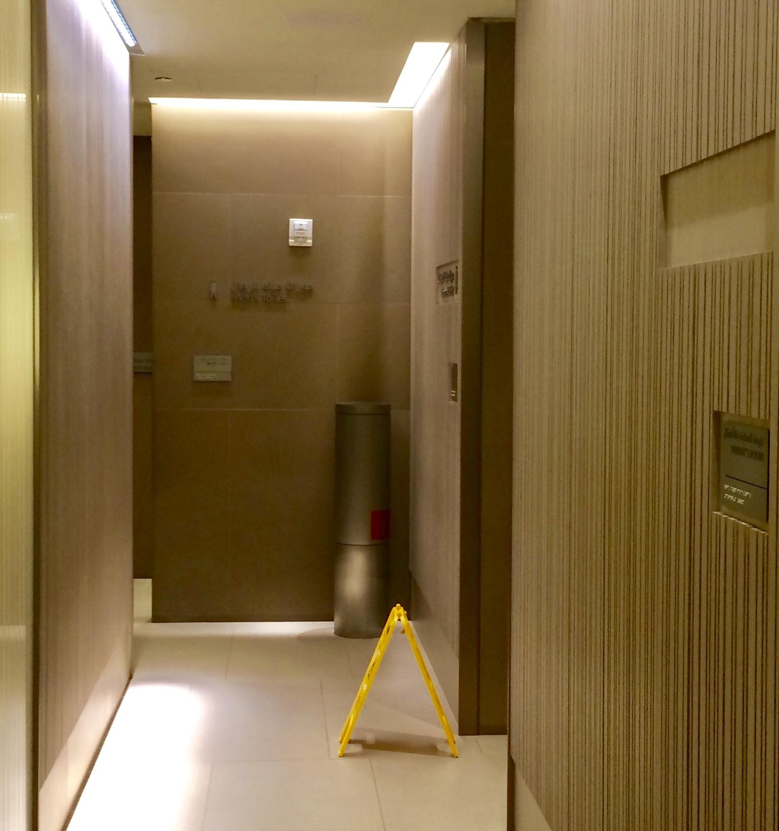 カタール-ドーハ空港のアルマハ・ラウンジ-プラオリティーパス-シャワー