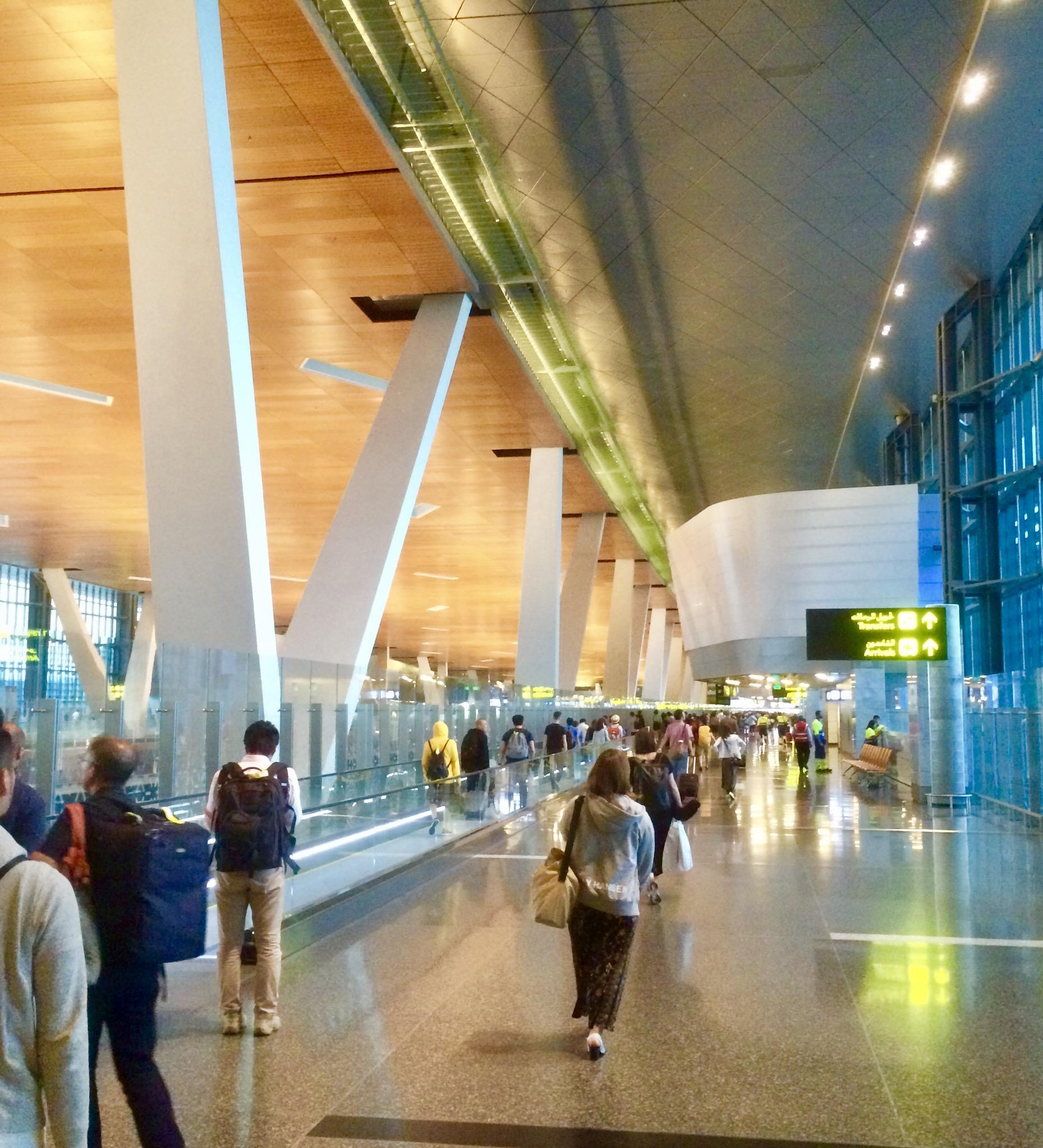 カタール-ドーハ-ハマド国際空港-Hamad-Airport-トランジット-3