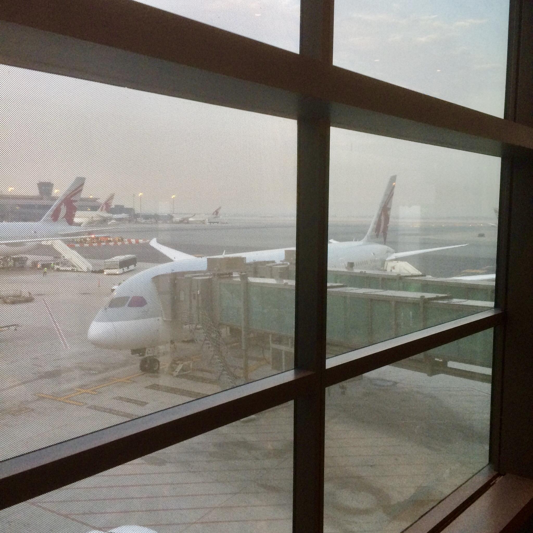 カタール-ドーハ-ハマド国際空港-Hamad-Airport-トランジット-1