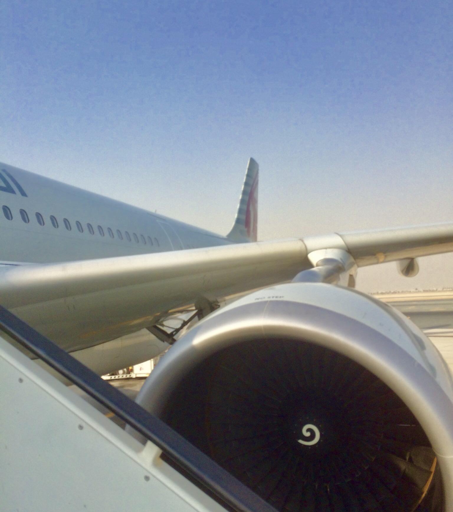 カタール航空-ドーハ-ハマド空港-トランジット-1