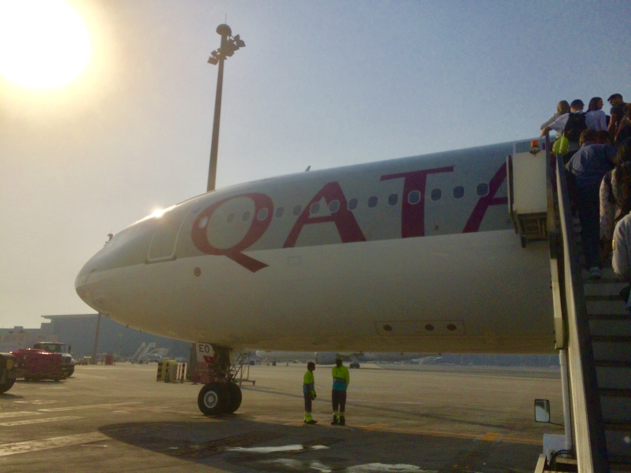 カタール航空-ドーハ-ハマド空港-トランジット-2