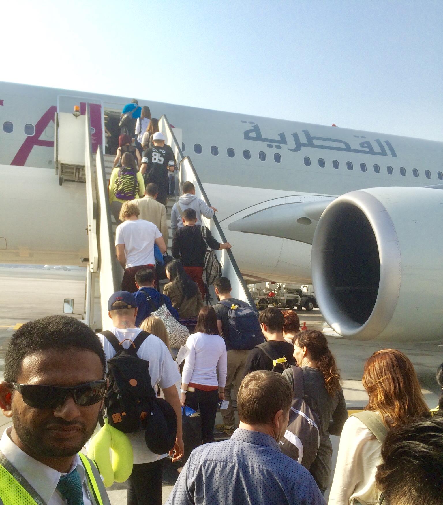 カタール航空-ドーハ-ハマド空港-トランジット-4