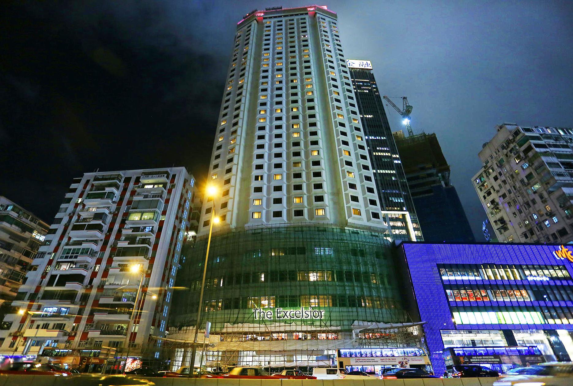 香港-夜景がキレイなホテル-エクセルシオール