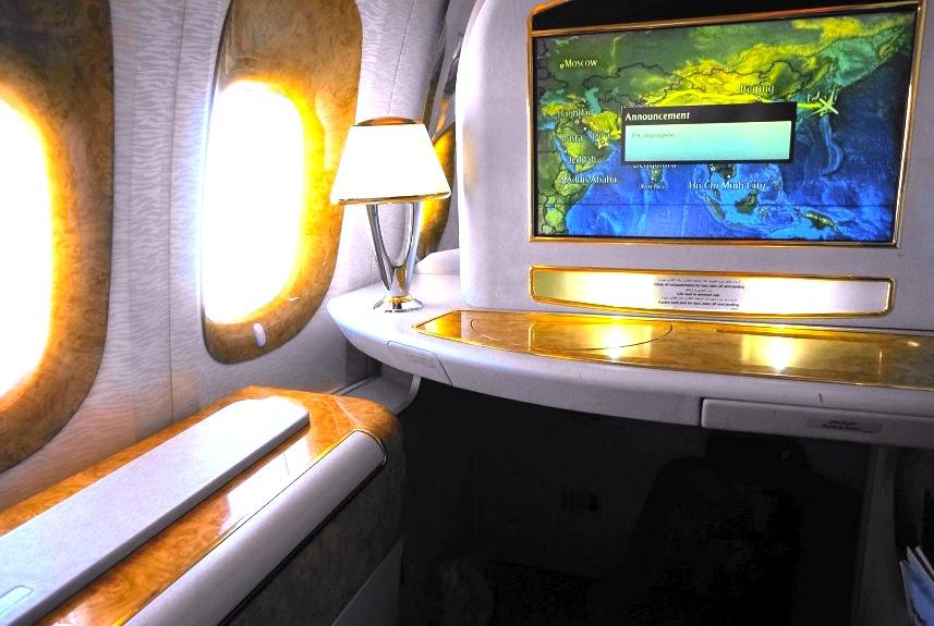 エミレーツ航空-ファーストクラス-Emirates First Class-2
