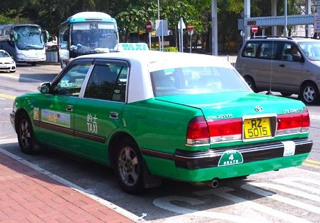 香港-タクシーの乗り方-6