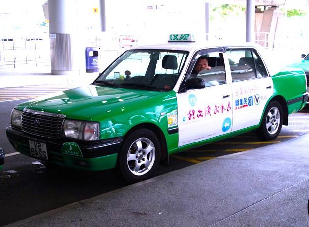 香港-タクシー-移動