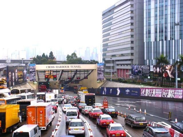 香港-タクシーの乗り方-34
