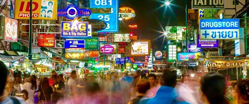バンコクのカオサン通りってどうよ??時代遅れの観光地なの??