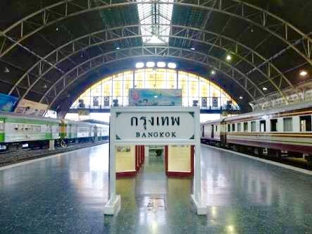 アユタヤ-行き方-バンコク-アクセス-電車-ファランボーン