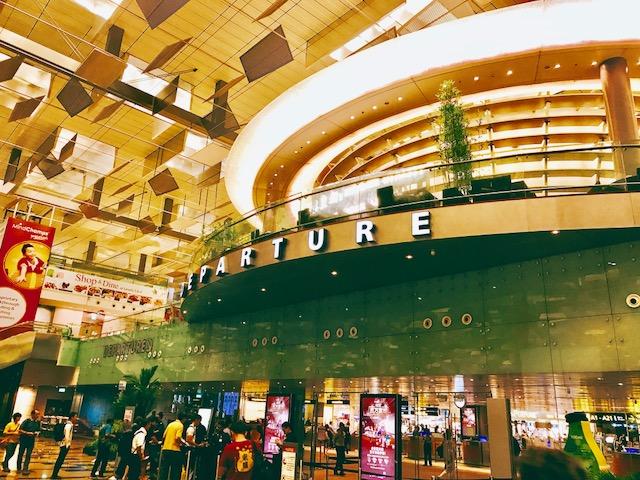 シンガポール-チャンギ空港-出国審査-イミグレーション
