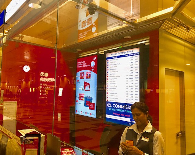 シンガポール★空港などSIMの買い方や価格&設定ガイド!激安にスマホで観光よ〜