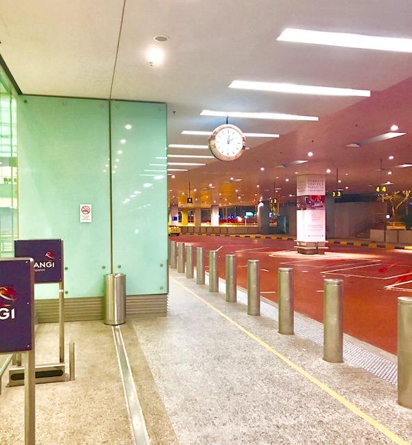 シンガポール-タクシー-空港-市内オーチャード-料金-時間-チャンギ