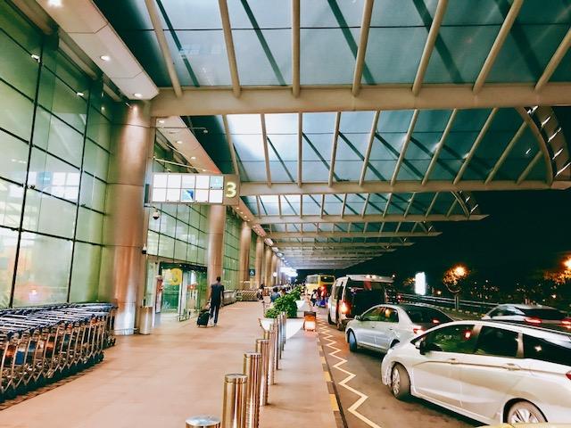 シンガポール-タクシー-空港-市内-時間-