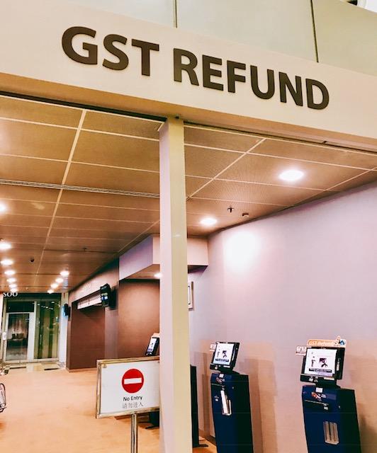 シンガポール-税金の還付-免税手続-GTS refund-14