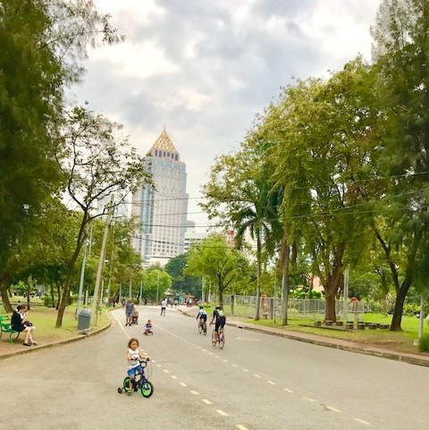 ルンピニー公園-バンコク-無料-観光スポット-5
